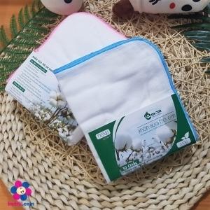 Khăn sữa 3 lớp Emom (set 10c)